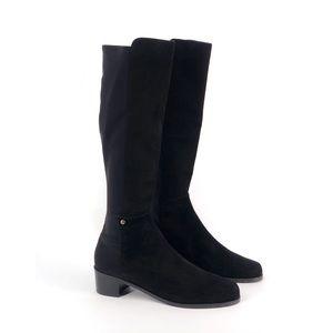 STUART WEITZMAN Mezzaluna Knee High Suede Boots